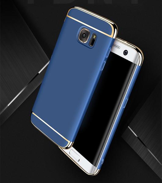 Casos de telefone de luxo 3 em 1 capa protetora do telefone para vivo x9 x9 além disso x7 x7 oppo r9s oppo r9s além de xiaomi 6