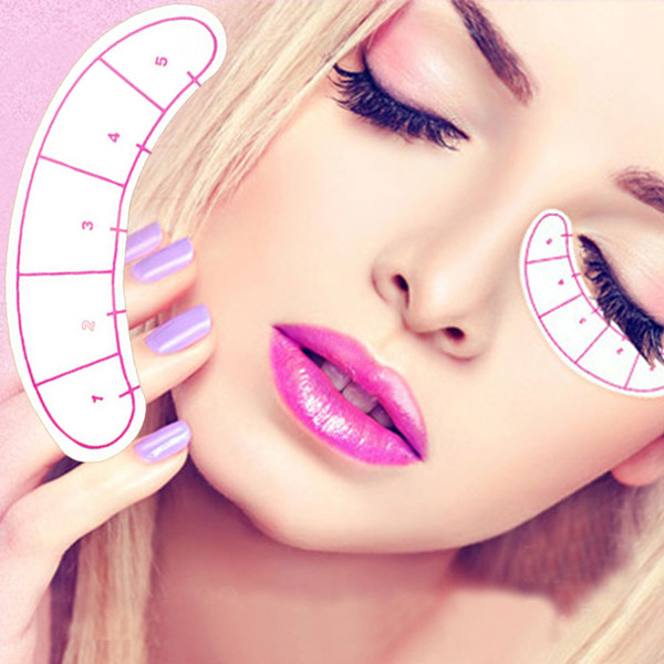 Wholesale- 70pairs/pack UnderEye Pads Paper Patches Eyelash Lash Eyelash Extension Paper Patches Eye Tips Sticker Wraps MakeUp Tools