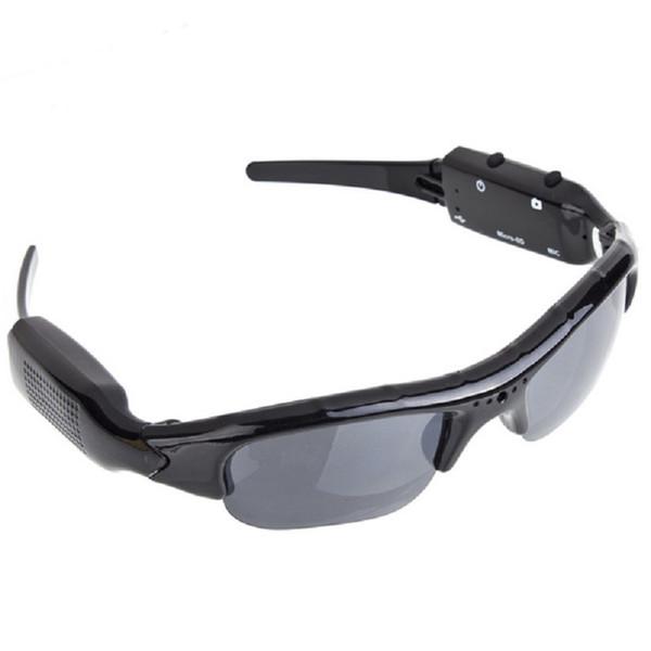 720P Sunglass Exclusive Digital Audio Video mini Camera DV DVR Sunglasses camo Sport Camcorder Recorder For Sports Free shipping