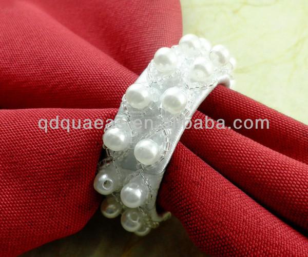 Wholesale- sold beaded wedding napkin ring