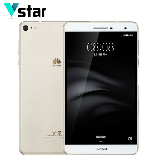 "Wholesale- HUAWEI M2 Lite PLE-703L 7.0"" 4G LTE Phone Call Tablet Snapdragon 615 Octa Core Side Fingerprint 3GB RAM 32GB/16GB ROM 13.0MP"