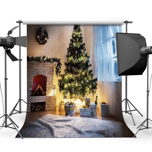 Christmas 5X7ft camera fotografica backdrops vinyl cloth photography backgrounds wedding children baby backdrop for photo studio 10277