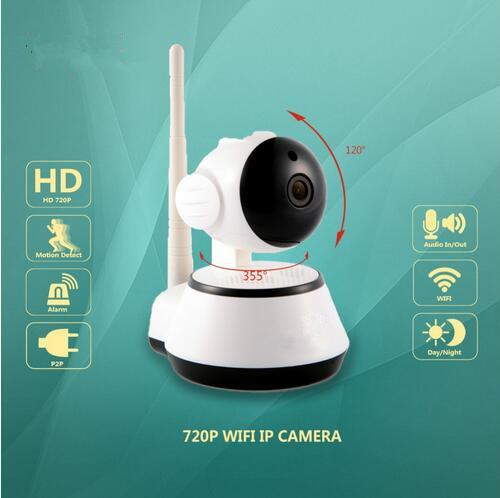 Newest 720P IP Camera Wi-Fi Wireless Home Security Camera Surveillance wifi ip Camera Day/Night Vision CCTV Automatic alarm