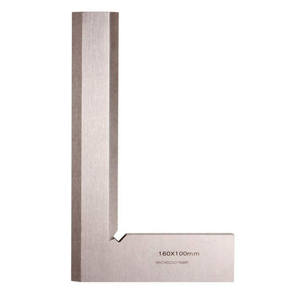 best selling Freeshipping 90 Degree Angle Ruler 160*100mm Metric Try Square Gauge Measuring Tool