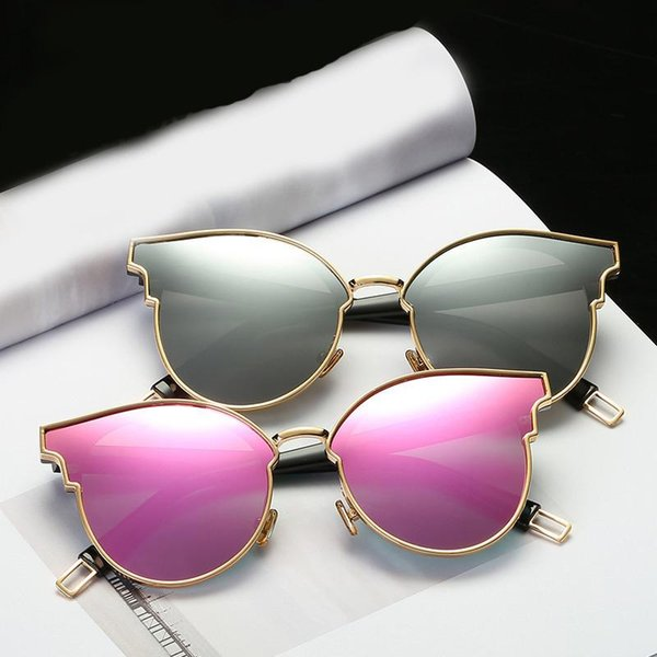 Polarized Sunglasses For Women With Personality Cat Eye Brand Designer Luxury Sun Glasses High Quality Korean Version Sunglass UV400