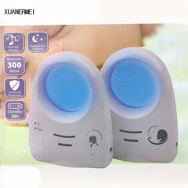 2.4/'/' Wireless Babyphone mit Kamera Video Audio Monitor Nachtlicht Baby Viewer