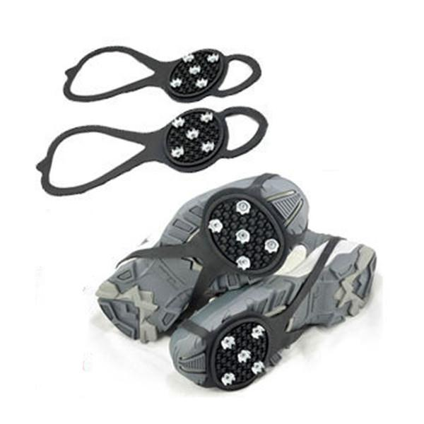 Crampons Ice Snow Gripper Walking Cleat Ice Gripper Anti Slip for Shoe Skiing Anti-skid Shoe Covers Outdoor Sports Grip Climbing Claw
