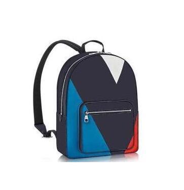 Yeni LX Moda erkek kadın öğrencilerin omuz çantası kitap çanta sırt çantası rahat tarzı Pu deri Fermuar Vintage