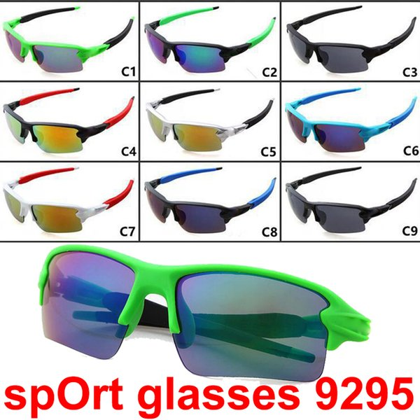 Brand Cheap Sunglasses for Men and Women Outdoor Sport Sun Glass Brand Designer Sunglasses driving cycling Sunglasses 9colors DHL Shipping