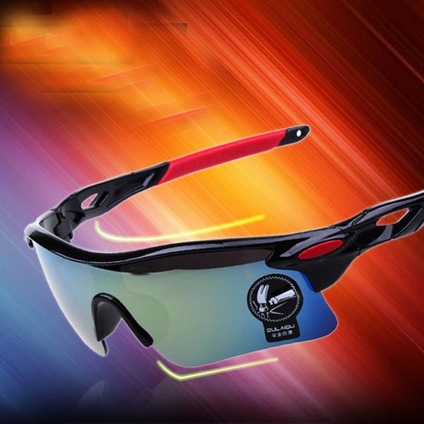 Lunettes de soleil de cyclisme pour hommes, lunettes de soleil de sport pour le cyclisme Baseball Running Fishing Golf, 100% UV400 Protection 009181
