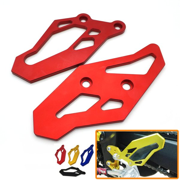 best selling New Footrest Foot Peg Heel Plates Guard Protector Motorcycle Accessories For Yamaha YZF R3 2015-2017 R3 ABS 2017