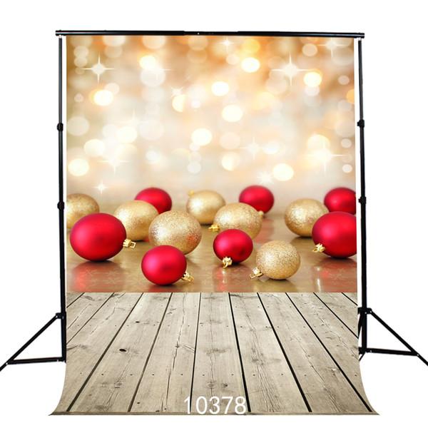 Natal 5X7ft câmera fotografica backdrops pano de vinil fotografia fundos de casamento crianças cenário do bebê para estúdio de fotografia 10378