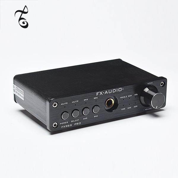 Freeshipping FX-AUDIO FX-98S upgraded version of USB audio processor PR0 decoding DAC PCM2704 MAX9722 pre-amp JRC NJW1144 audio amplifier