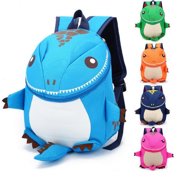 5Color The Good Dinosaur Nylo kids backpack Cotton Fabric Cartoon Arlo Anti Lost kindergarten children backpack school bags dinosaurs snacks