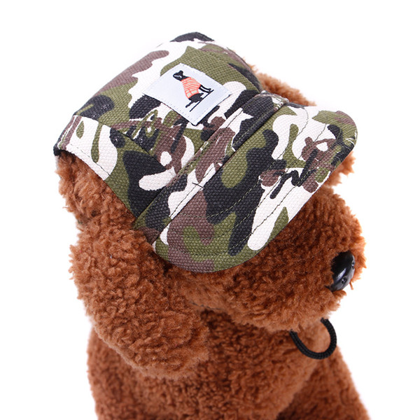 2017 Hot Sale Dog Hat Pets Use High Quality Cnavas Fashion Style Baseball Cap Small Pets Hat For Summer 2 Size Free Shipping