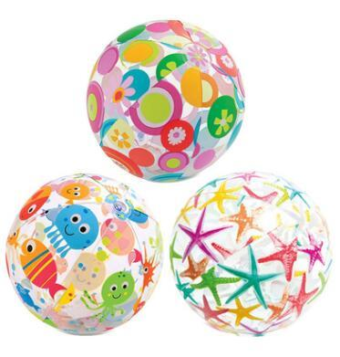 Beach Ball Round Star Fish Swimming Pool Beach Balls Inflatable PVC Toys Adult Children Party Sand Water Fun Toys Outdoor Beach Balls J436