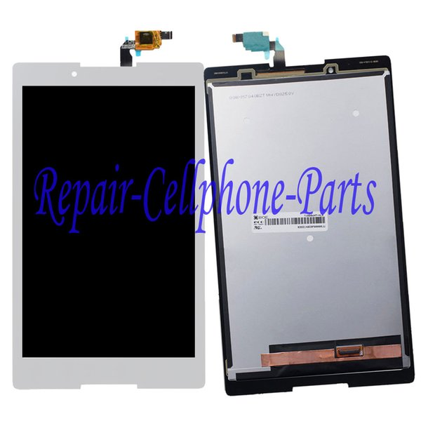 Wholesale- White 100% New LCD DIsplay + Touch Screen Digitizer Glass Assembly For Lenovo Tab 2 A8-50F A8-50LC Free Shipping