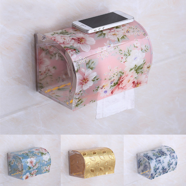 top popular Wholesale- Modern Acrylic Tissue Box, Creative Plastic Tissue Holder, Tissue Dispenser at Bathrooms TB008 2021