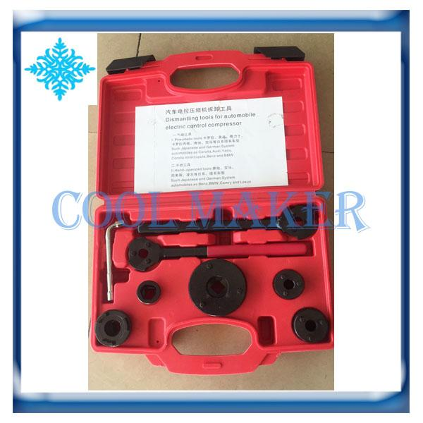 Car air conditioner electric control compressor clutch sucker hub removal tools