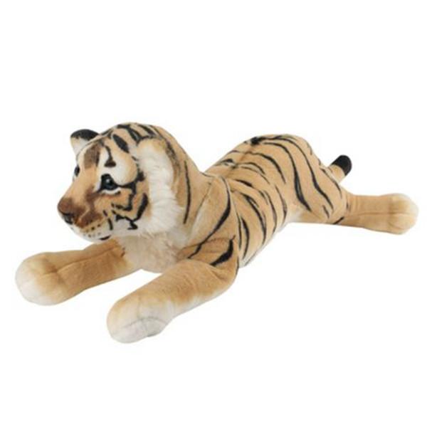 60cm Lying Down Brown Tiger