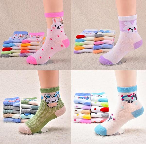 top popular 2017 kids socks new baby boy girl Summer socks children cotton stocks good quality 2020