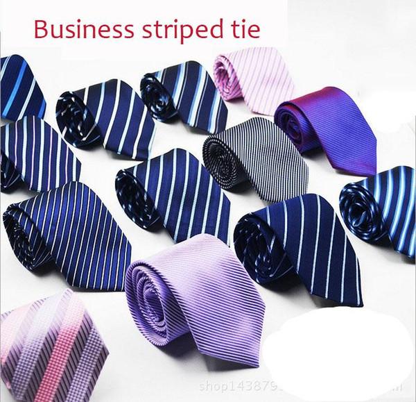 Negócios dos homens trajes profissionais terno formal trabalho ferramental listrado gravata azul business bank hotel entrevista