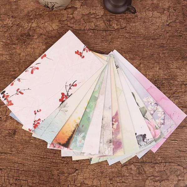 30 шт./лот Chines стиль бумажные конверты для приглашений свадебные приглашения конверт набор конверт подарочные конверты Papelaria