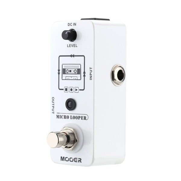 Mooer Micro looper Mini Loop recording Effect Pedal for Electric Guitar True Bypass High Quality Guitar Parts & Accessories