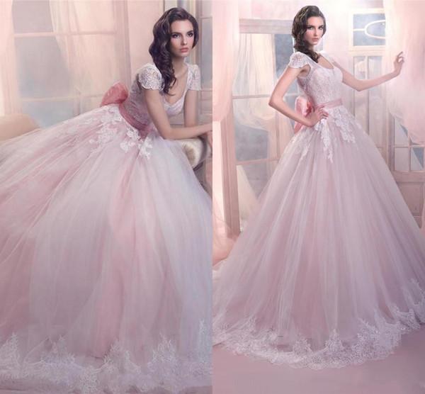 Royal Princess Vintage Ball Gowns Wedding Dresses Bridal Gowns V ...