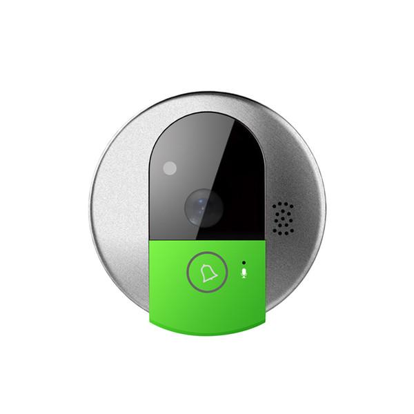 Оптовая продажа-WiFi 720P HD сеть IP IR видеозвонок дверной звонок камеры Беспроводной дверной телефон камеры TF Card Storage для ПК iOS Android Smart Home