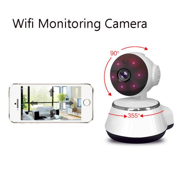 HD Indoor PTZ Wireless WiFi IP Camera 720P P2P Onvif CCTV Security Home IP Camera