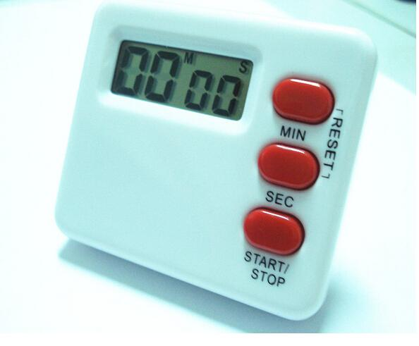 Soup Cooking Timers Electronic Kitchen Timer with LCD Large Screen Plastic Digital Countdown Timer