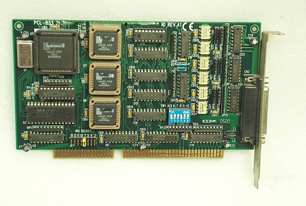 best selling original PCL-833 Quadrature Encoder and Counter Card REV.A1 100% tested working,used, in good condition