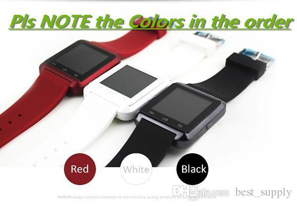 Factory wholesale cheap U8 smartwatch , U8 Bluetooth Smart Watch Phone Mate For Android&IOS Iphone Samsung LG Sony