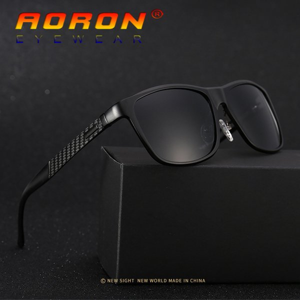 2017 New With Original Box Aluminum Magnesium Polarized Sunglasses Sports Mirrored Sun Glasses Brand Design Male Driving Glasses Eyeglasses
