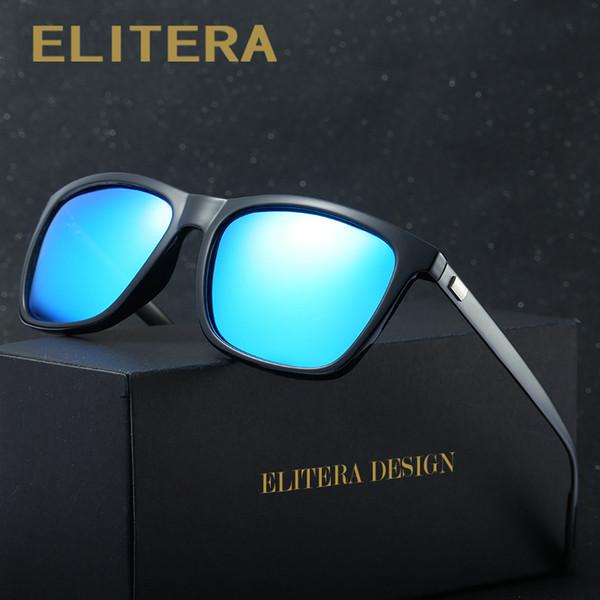 ELITERA Марка алюминия магния поляризованные мужские солнцезащитные очки старинные очки аксессуары солнцезащитные очки для мужчин / женщин gafas-де-соль
