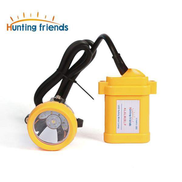 10pcs/lot Safety Miner Lamp KL6LM(B).P LED Miner Cap Lamp Mine Light Lithium Battery Headlamp Explosion Rroof Headlight