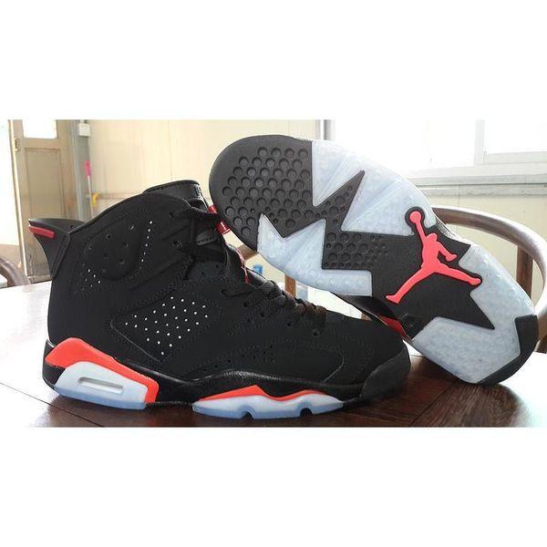 code promo c862e 05a55 2019 Jordan Sports Air Retro 6 Infrared 2014 Black Infrared 23 Black 384664  023 Size 8 Jordans Retros 6s Infrared 2014 Black/Infrared23 From ...