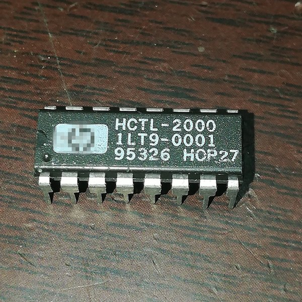 HCTL-2000 . HCTL2000 , SPECIALTY INTERFACE CIRCUIT IC / dual in-line 16 pin DIP plastic package . PDIP16 , Electronic Components