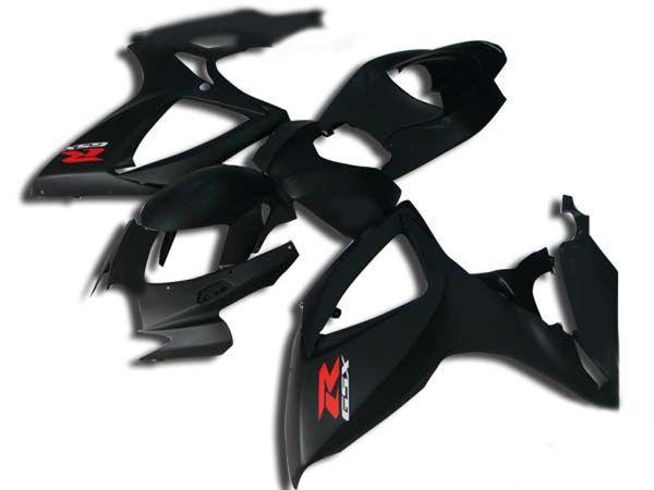Motorcycle Fairing kit for 2006 2007 SUZUKI GSXR600 750 GSXR 600 GSXR 750 K6 06 07 Matte black Fairings bodywork+gifts MN10