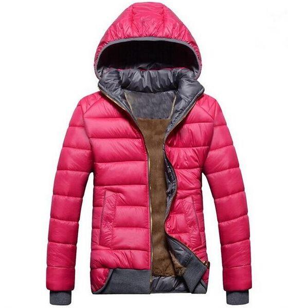 top popular 2018 new Women's Down & Parkas female models sport coat plus velvet down jacket women's winter warm hooded jacket Removable free shipping 2019