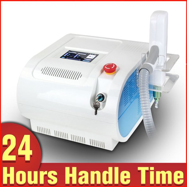 2015 New Hot ND Yag Laser Remove Eyebrow Tattoo Removal Beauty Machine with RED Target Light