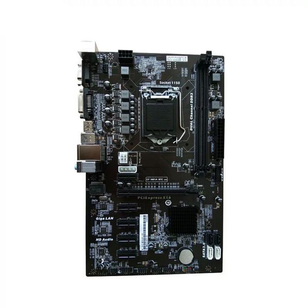 Para placa base COLORIDA H81A-BTC V20 Miner ATX Board LGA1150 Socket