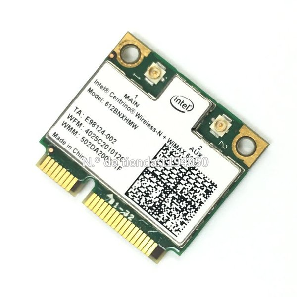 Wholesale- Intel Wireless-N + WiMAX 6150 612BNXHMW Wireless PCIE Half Hight Wireless WLAN Wifi Card 802.11b/g/n 300Mbps INTEL 6150