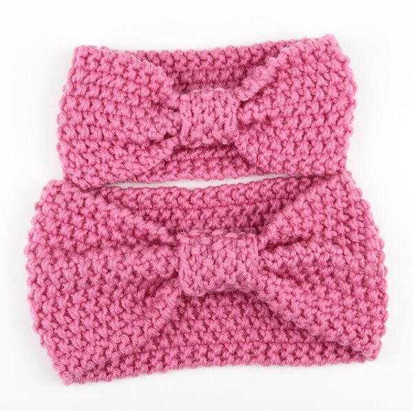 Winter warm crochet knitted Headband for Mom and baby Christmas Gift for Adult And Baby DHL free shipping