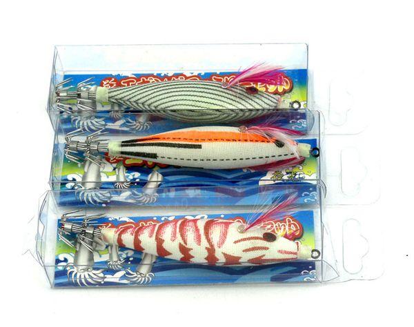 Hot Round belly Shrimp Squid Jigs Fishing Hard bait 14g 10.5cm Artificial Prawn jigging lure Stainless Steel Explosive hook