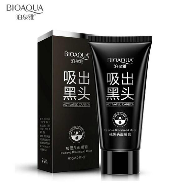 BIOAQUA blackhead black Face mask Black Mask Facial Mask Nose Blackhead Remover Peeling Peel Off Black Head Acne Treatments 500pcs DHL FREE