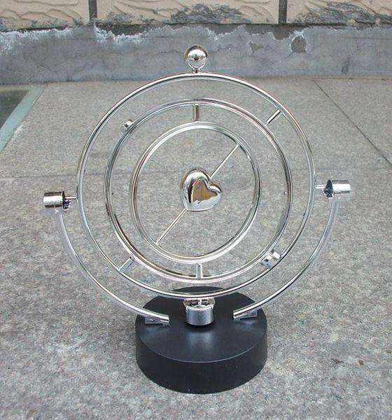 Livraison gratuite rotatif instrument perpétuel modèle swing globes célestes étrange nouvelle maison artisanat ornements magnétiques Bureau