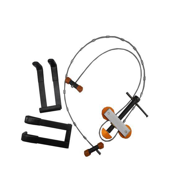 DLGLOBAL Bow Press and Quad Limb L Brackets Package Bundle