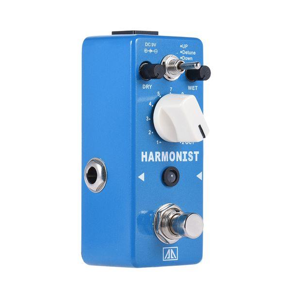 AROMA AHAR-5 HARMONIST Pitch Shifter Pedal Efeito de Guitarra True Bypass 3 Modos de Pitch Shift Harmonia Efeitos Guitar Parts